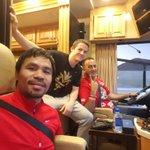 FOX5Vegas: RT MannyPacquiao: Road trip to Las Vegas. #MayPac http://t.co/toMrVYEmYc