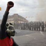 BALTIMORE RIOTS: -15 structure fires -144 car fires -200 arrests -19 officers injured PHOTOS: http://t.co/t8N0yFTTcT http://t.co/DD41jFlaZe