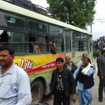 A 100 buses will carry stranded Indian nationals to Gorakhpur and Raxaul today from Kathmandu @MEAIndia http://t.co/KDnXe9QjwB