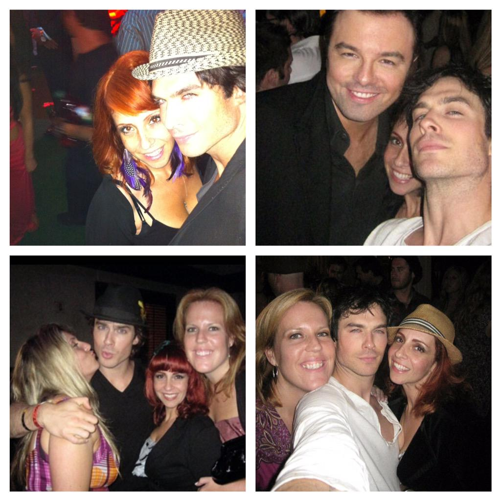Congrats to my @Comic_Con husband @iansomerhalder on his REAL marriage! Best wishes!! http://t.co/JI86ULfSkF