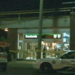 STORY: Police looking for two suspects in armed robbery at Donlands Station http://t.co/P0ZrlL2jIe http://t.co/1OqSAo6iAn