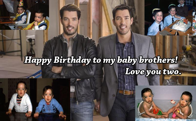 Happy Birthday to the best brothers one could ask for. @MrDrewScott @MrSilverScott http://t.co/8xGLgwb6rj