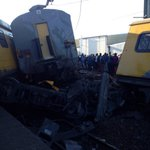 Horror train collision leaves one dead , about 80 injured at Denver station, JHB http://t.co/zv0BjTxtyx #TrainCrash http://t.co/itahcbsyOH