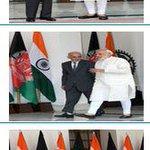 PM Shri @narendramodi with Islamic Republic of Afghanistan, Dr. Mohammad @ashrafghani http://t.co/m6IEWKmUHi