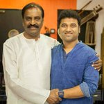 RT @TamilaninCinema: Devi Sri Prasad And Vairamuthu In The Song Composition For Ilayathalapathy Vijay's #Puli !! @ThisIsDSP