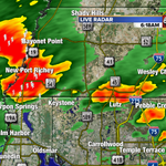 More heavy pockets of rain right now & more on the way! #tampa #tampaweather @abcactionnews @tampabaytraffic http://t.co/zyd9KRz2EB