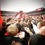 Three years ago today, #SaintsFC secured promotion back to the @premierleague. by southamptonfc http://t.co/9m9zyGuIL8