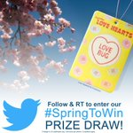 #SpringToWin #PrizeDraw! Follow & RT @evanshalshawuk to #win 1 of 5 Love Hearts #LoveBug Air Fresheners! Closes 9pm http://t.co/ubbdGZbAX2
