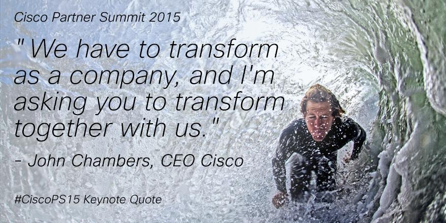 Are you ready to be bold? Let's transform together! #CiscoPS15 http://t.co/RvVPV56k5G