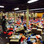 More looted shoe store. #BaltimoreRiots http://t.co/7GKForzMzf