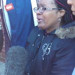 "CVS employees talking to press in front of burned out store. ""They didnt have to burn our store like that."" http://t.co/XV94mC6FXy"