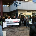 #Toronto Parkdale #Akelius tenants refuse to be driven from their homes by #gentrification #TOpoli http://t.co/FsiQTSbr2x