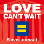 Tell #SCOTUS to affirm #MarriageEquality because #LoveCantWait any longer. http://t.co/oCUzFRpBUO