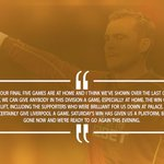 QUOTES: @steveharper37 says @HullCity must look to build on @CPFC win against @LFC this evening #HULLIV http://t.co/55GflezjfU