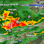Widespread heavy rain in Pasco County now. #tampaweather @abcactionnews @tampabaytraffic http://t.co/7B6oLc4RGE
