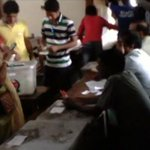Watch NOW: Vote rigging fiesta at Dhaka College http://t.co/oCd0wlV3pA #CityPolls15 http://t.co/7vOdrNHE5P