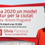 Aquest dimecres #Girona 2020 un model de futur per la ciutat al teatre municipal. 19:30h http://t.co/Df8BD71KLQ