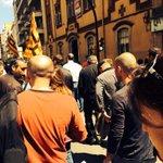 A la manifestació donant suport als treballadors de #Gironamésneta #Girona @ccoogirona http://t.co/2eJnYFZgVw