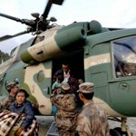 Nepal: Helicopters ferry injured from remote villages. PM says death toll could hit 10,000. http://t.co/zZIVHjvwC1 http://t.co/GOMNpZ7rW2