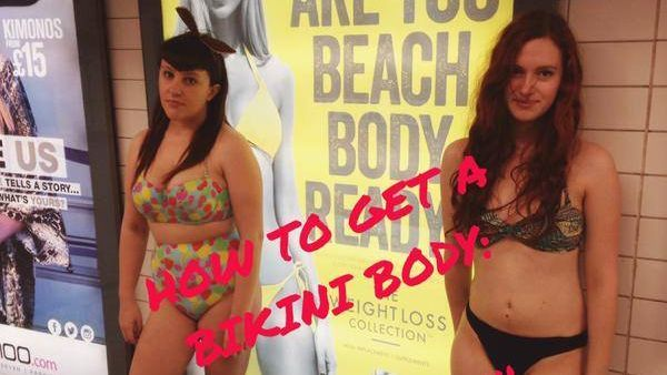 Saying no to #BodyShaming. Our favourite responses to the 'Beach Body Ready' ads http://t.co/tOYx4j0vkf