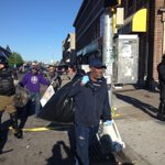 Everybody pitching to clean up. #PrayForBaltimore http://t.co/4ANwpLPNBI