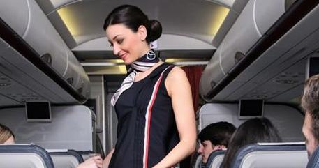 RT @PopagandaGR: Κάπως έτσι θα σε υποδεχτούν στο αεροπλάνο, οι γυναίκες που δουλεύουν στη�