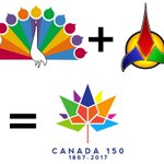 The Canada 150 logo looks like the NBC peacock and the Klingons had a baby. #cdnpoli http://t.co/c2S9yn4sUb