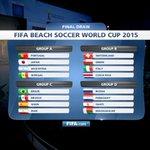 سويسرا ، إيطاليا ، كوستاريكا .. مجموعتنا في #FIFABeachWC بالبرتغال 2015 .. بالتوفيق لأحمر الشواطئ http://t.co/ueCyxXkC0D