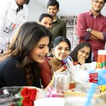 RT @smkoneru: Sam @Samanthaprabhu2 hosted lunch for her fans at N District.. Photos - http://t.co/DTlUALgmRh .. Really nice of her