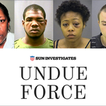 """In 2014, the Baltimore Sun released an investigative piece -""""Undue Force"""" about BCPD brutality http://t.co/TvknALp1AT http://t.co/626onQehsg"""