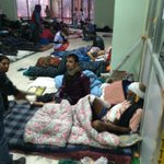 We visited one of the largest hospitals in Kathmandu. Its overflowing. The injured line the halls. http://t.co/rSAgWwExlf