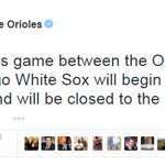 #Breaking: #Baltimore Orioles will play game tomorrow during the day, but it is closed to the public. #BaltimoreRiots http://t.co/PbxPKGwuoG