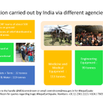 #IndiaWithNepal Heres a look at the relief and rescue operations mounted by India in Nepal #OperationMaitri http://t.co/ekiIVTcwmO
