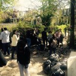 North Ave post riot clean-up turns into neighborhood clean-up #baltimore http://t.co/E6J1HrLoc1 http://t.co/wHynpFmV6b