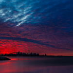 Fire in the sky. Captured by Greg David. #Toronto http://t.co/K33Fpv6jNo