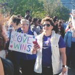 The message this morning at #SCOTUS: #LoveMustWin http://t.co/IKs518Gtvr