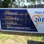 """LOL RT """"@BrettKGBT: Pharr First campaign signs have been vandalized up and down Cage Boulevard. @PharrTx  #politics http://t.co/1A94g0z6Jk"""""""