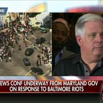 Maryland Governor @LarryHogan says they waited until Baltimore @MayorSRB requested the National Guard to send them. http://t.co/ve8Y7buw8V