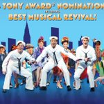 Its a helluva honor! 4 #TonyNominations for #OnTheTown including Best Revival! @TheTonyAwards http://t.co/baRqrw4PQp