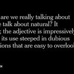 Why the word natural doesnt mean anything anymore http://t.co/2SjwmUc5YB http://t.co/y6gDzzlwB9