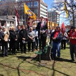 #DayofMourning #Toronto #Ontario #JohnTory speaking #BeSafe #Worksafe #CoolConstruction http://t.co/V1wac0TNDe