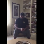 Former Raven Ray Lewis has a message for people rioting in #Baltimore. Watch: http://t.co/kATY5jCUxa http://t.co/P6mjJI3OSt