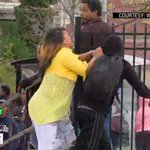 #VIDEO Angry mom slaps son after seeing him protesting in Baltimore. http://t.co/QXjCC9kFGq http://t.co/6XsdKvpXfY