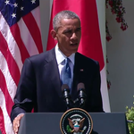 """Obama: """"Theres no excuse for the kind of violence we saw yesterday...it is counterproductive..."""" http://t.co/EkdVREw8iY"""