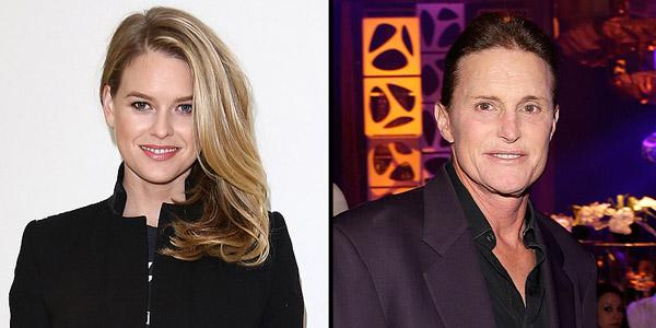 British actress Alice Eve is under fire for making 'transphobic' comments about Bruce Jenner
