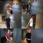 صورة | لحظة وصول اللاعبين إلى ملعب الكامب نو . #برشلونة_خيتافي http://t.co/kE3KGkHU84