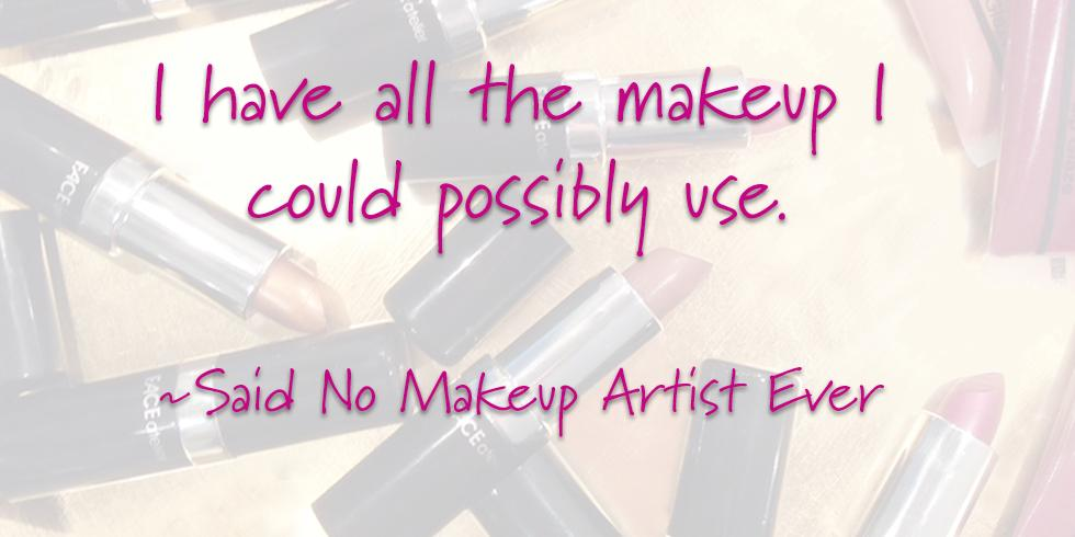 Said No #MakeupArtist ever! Join us @TheMakeupShow in #NYC this weekend for #FACEatelier must-haves for your pro kit! http://t.co/n69j2Oeo5C