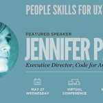 RT @RosenfeldMedia: @CodeforAmerica's @pahlkadot  to share her take on leadership with UXers on 5/27. Join us:  http://t.co/o4ujJ38acu