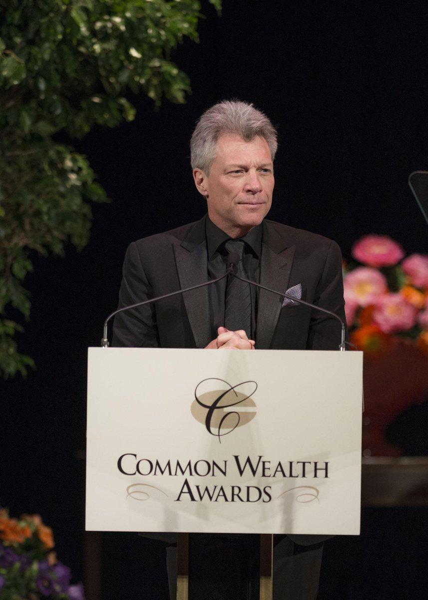 Congratulations to Jon Bon Jovi for receiving the Common Wealth Award last Saturday. Read more http://t.co/BrMUae1Hlr http://t.co/yDI2U1Kftp