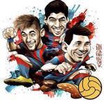 رسمياً | ميسي سواريز نيمار الـ MSN يعادلون الرقم القياسي لأكثر ثلاثي تسجيلاً للأهداف في تاريخ برشلونة بـ 100 هدف . http://t.co/ah1q4hIxnE